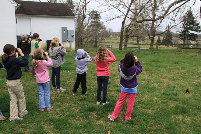 Young Birders at the Willistown Conservation Trust